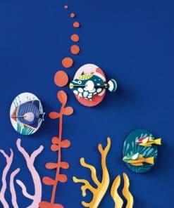 Karton Pillangóhal | 3d dekor miniart
