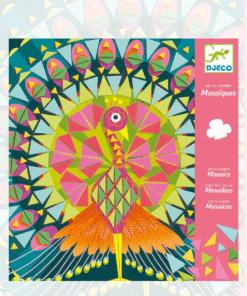 djeco Mozaikkép készítés - Csodás madarak - Coco miniart