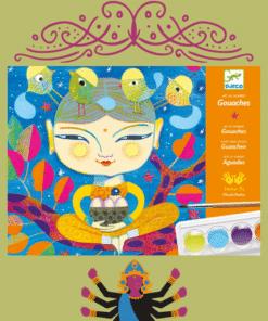 Művészeti műhely, festés | Indiai hangulat