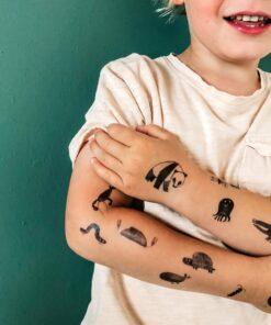 Nuukk gyerek bio tetoválás Minimag
