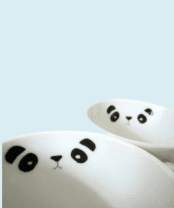 PORCELANmatricak panda miniart