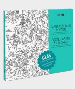 Színező poszter – Atlasz MiniArt