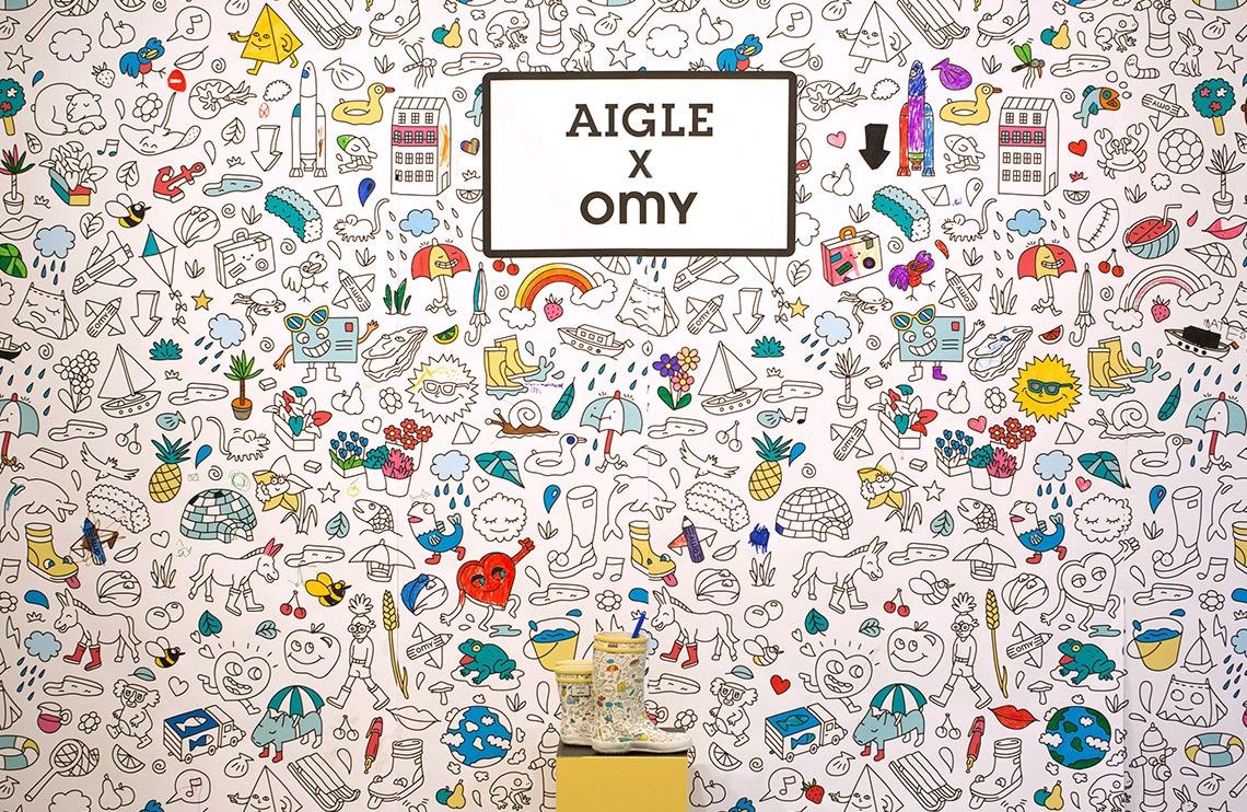 X. OMIG AIGLE miniart