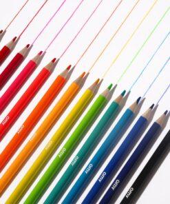 neon színes ceruzák pop miniart