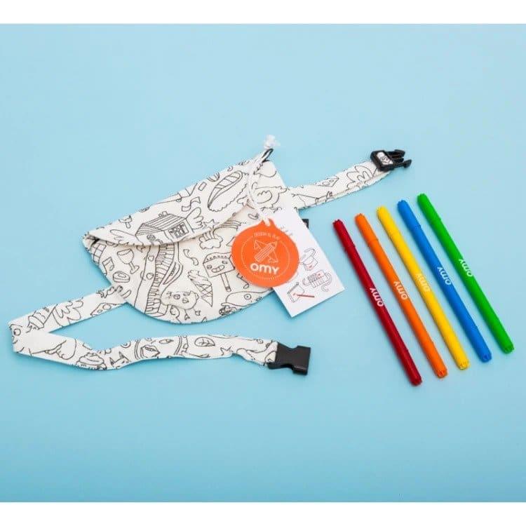 Színezhető övtáska OMY MiniArt