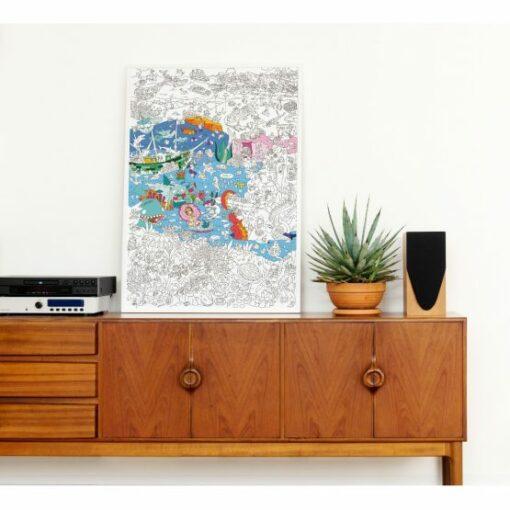 Színező poszter – Óceán MiniArt