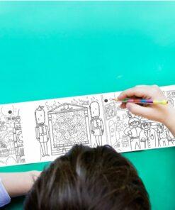 Zsebjátékok   Város színező tekercs Miniart