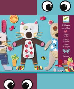 djeco Kollázs műhely - Kicsiknek - Collages for little ones miniart
