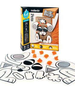 makedo BoxProps Arcok - Házi kedvencek - Pets miniart