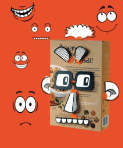 makedo BoxProps Arcok - Emberek - People miniart