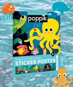 matricás poszter poppik akvárium miniart