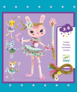 DJECO Szálfűzős tündérbábu készítés - Tündérkéim - My fairies MINIArt