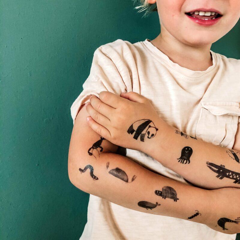 ideiglenes gyerek tetoválás