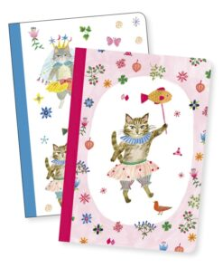 Jegyzetfüzet 2 db A/6 - Aiko little notebooks djeco miniart