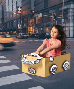 BoxProps Közlekedés - Sportkocsi - Roadster makedo miniart