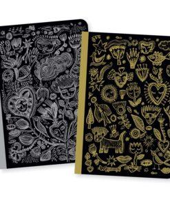 Chic Aurélia little notebooks djeco miniart