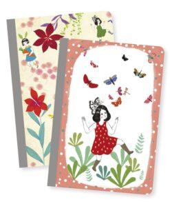 Jegyzetfüzet 2 db A/6 - Chic little notebooks