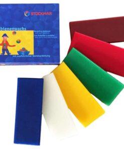 Stockmar Modellező méhviasz - 6 szín miniart