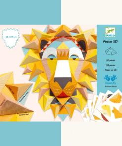 Papírszobor műhely - A király - The King djeco miniart