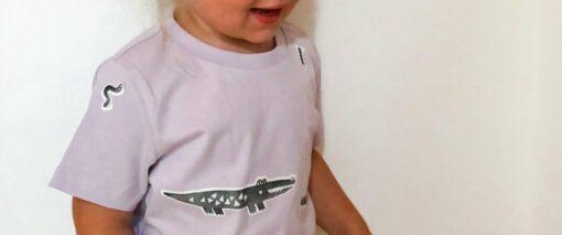 nuuk pólór vasalható matrica krokodil miniart